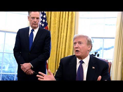 Trump may announce tariffs on China this week