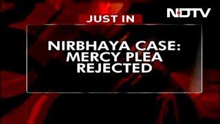 President Rejects Nirbhaya Convict's Mercy Plea