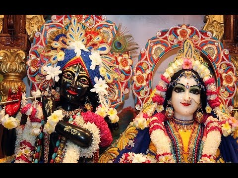 Sri Sri Radha Madan Mohan Temple Sandhya Arati Darshan 30th May 2018 Live from ISKCON Ujjain