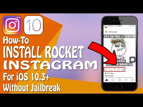 How To Get Rocket Instagram For iOS 10, 10.2.1, 10.3 On iPhone / iPad Without Jailbreak