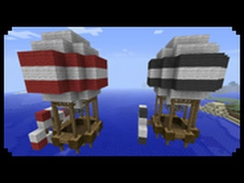 ✔ Minecraft: How to make a Hot Air Balloon