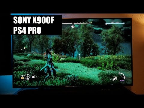 Sony X900f On The PS4 PRO And HDR Game Settings,AU2IO