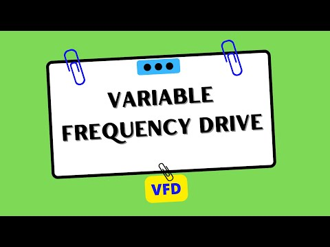 VFD (Variable Frequency Drive)