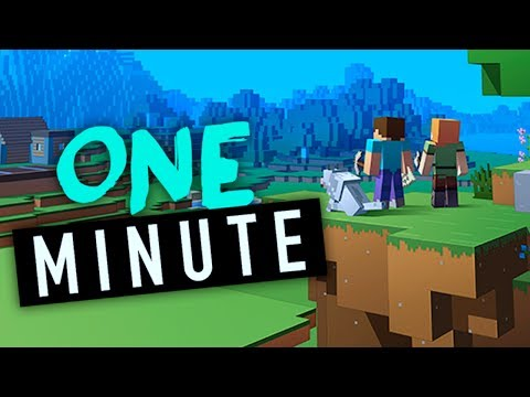 MINECRAFT: RÉSUMÉ DE 1 MINUTE