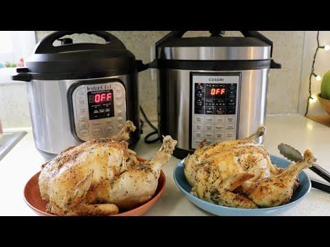 Whole Chicken || Instant Pot vs. Cosori