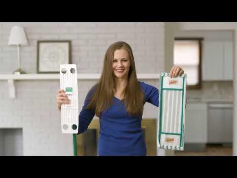 Libman Microfiber Wet & Dry Mop Refill Instructions