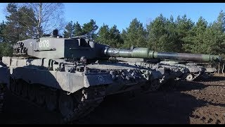 A Look Inside the Leopard 2a4 Tank