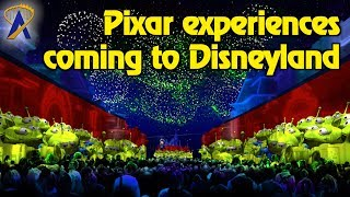 New Pixar Experiences coming to Disneyland in 2018