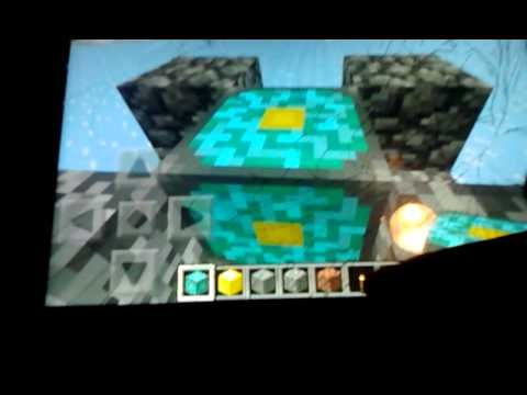 How to make a nether portal in minecraft pocket ed
