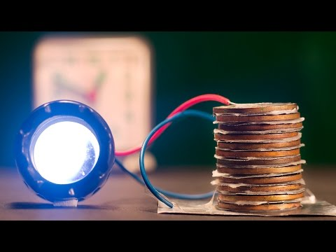 How long coin battery will last - Or it is unlimited free energy - Science Experiment