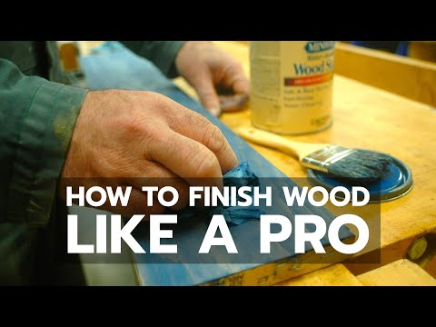 WOOD FINISHING: How to Succeed Like a Pro
