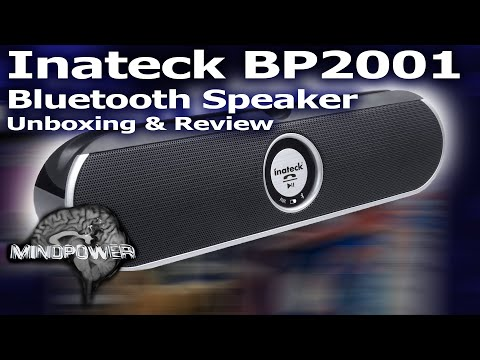 Inateck BP2001 Bluetooth Portable Stereo Speaker Unboxing & Review - MindPower009
