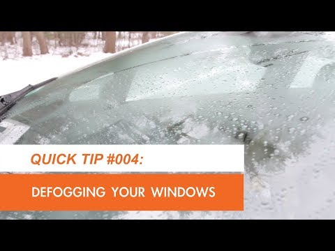 How to Quickly Defog Your Car Windows