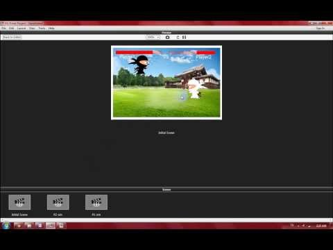 Ninja Game (GameSalad)