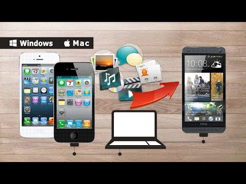 How to Transfer Photos/Videos/Music/Messages/Contacts from iPhone 5/4S/4/3GS to HTC One Max/Mini?