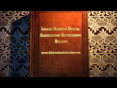 New Book: The Insane Alberta Dental Association Marketing Bylaws