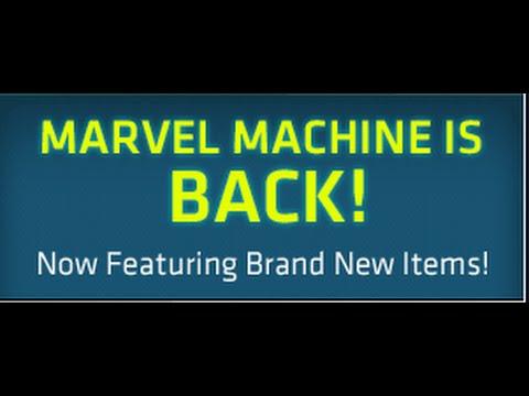 Maplestory 29 Marvel Machine Spins!!!