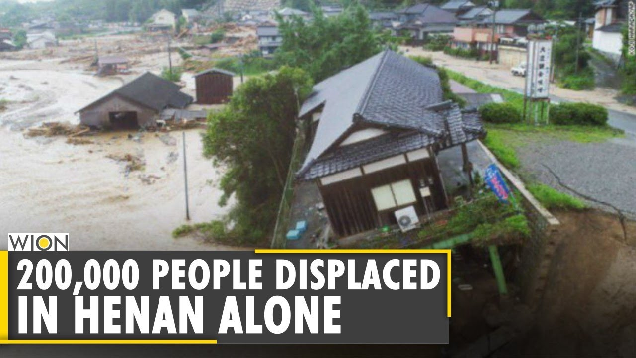 Central China Floods: Death toll goes up to 33, thousands evacuated from Henan province|English News