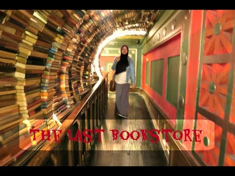 Check out THE LAST BOOKSTORE!