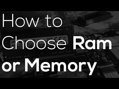 How to Choose the Right Ram- Build a PC