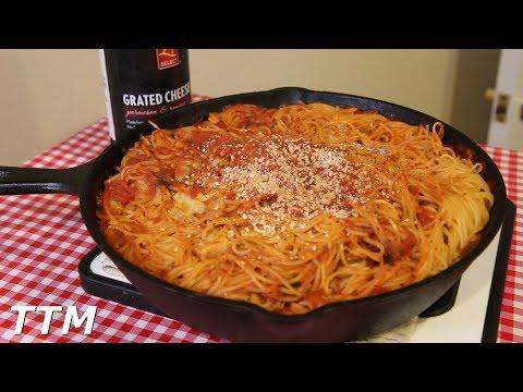 Toaster Oven Spaghetti Recipe