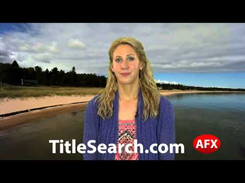 Property title records in Alpena County Michigan   AFX