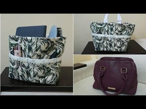 DIY Purse/Handbag Organizer   Handbag Organization Idea