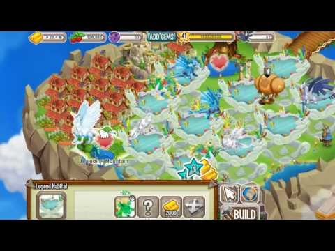 How to Breed or Get the Waterfall Dragon EASY in Dragon City using PURE DRAGON