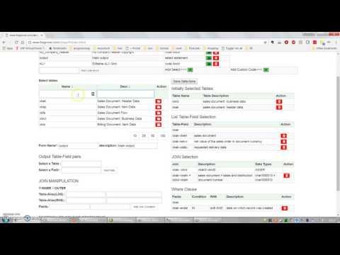 Online ABAP Code generator