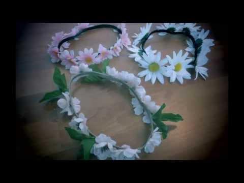 ✿ DIY flower crown ✿