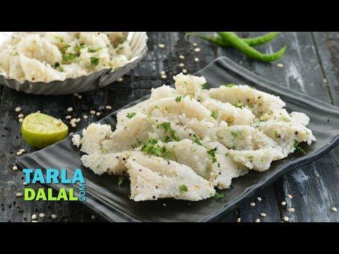 Upma, Quick Upma recipe, Breakfast Upma by Tarla Dalal