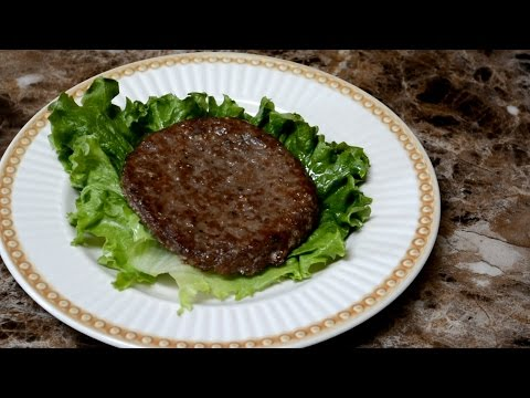 Oven roasted hamburgers