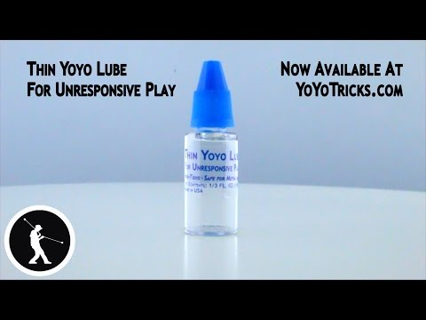 How and When to use Thin Yoyo Lube for yoyo bearings