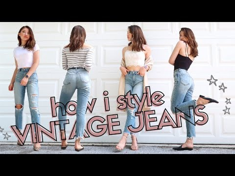 HOW I STYLE VINTAGE / GIRLFRIEND JEANS