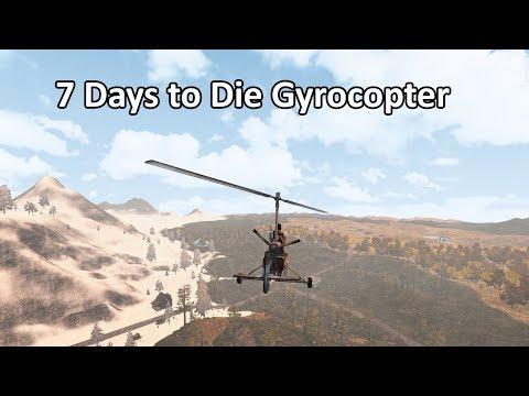 7 days alpha 17 gyrocopter