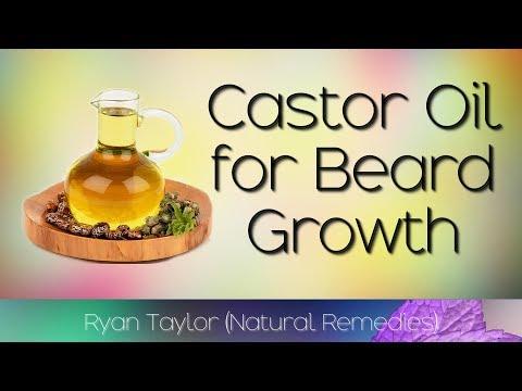 Castor Oil: for Beard Growth