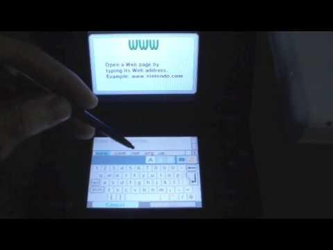 Nintendo DSi Browser