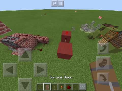 How to Make an Annoying Machine in Minecraft PE