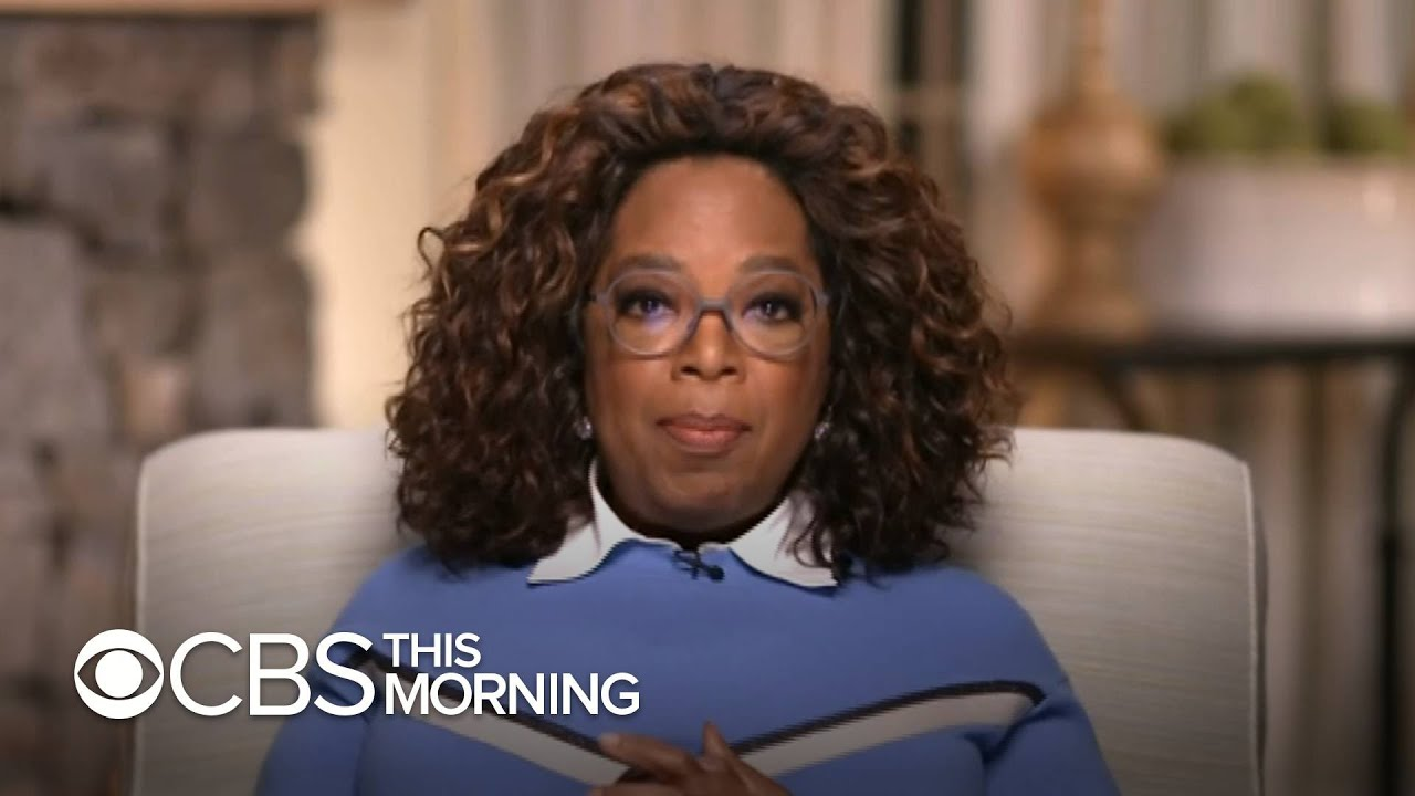 Oprah Winfrey on her bombshell Harry and Meghan interview