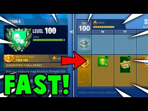 FASTEST Way To RANK UP + TIER UP in SEASON 4 FORTNITE! (Fortnite Battle Royale)