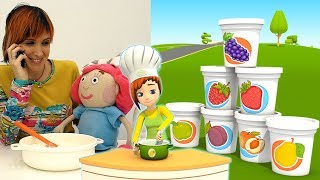 Nuovo! Cuciniamo insieme una torta | video divertenti per bambini 🍰 🎂
