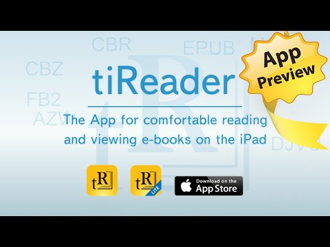 tiReader for iPad Preview:  Looking for an App for comfortable reading?