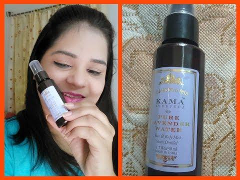 Kama Ayurveda Lavender water   Review