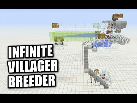 Minecraft PS4 - INFINITE VILLAGER BREEDER - Tutorial ( MCPE / PS3 / XBOX  / WiiU )