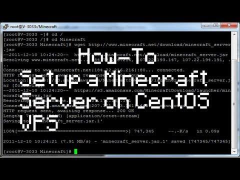 How to Setup Minecraft Server on CentOS VPS/Dedicated Server