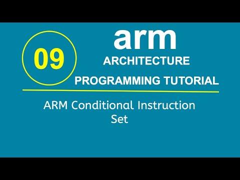 ARM Programming Tutorial 9- ARM Conditional Instruction Set