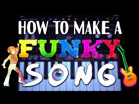 How to make a Funky Song in Garageband (iPad & iPhone)