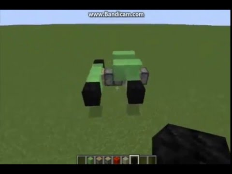 HOW TO MAKE A MOVING CAR IN MINECRAFT pls Subscribe Guys