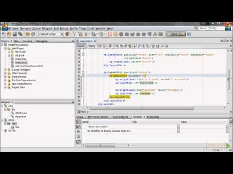 Creating a PrimeFaces Web Page  | packtpub.com