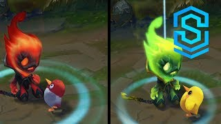Infernal Amumu Chroma Skins